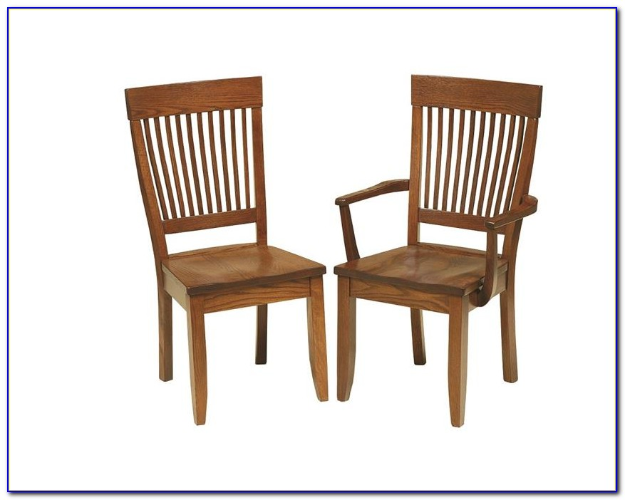 Antique Mission Style Dining Chairs