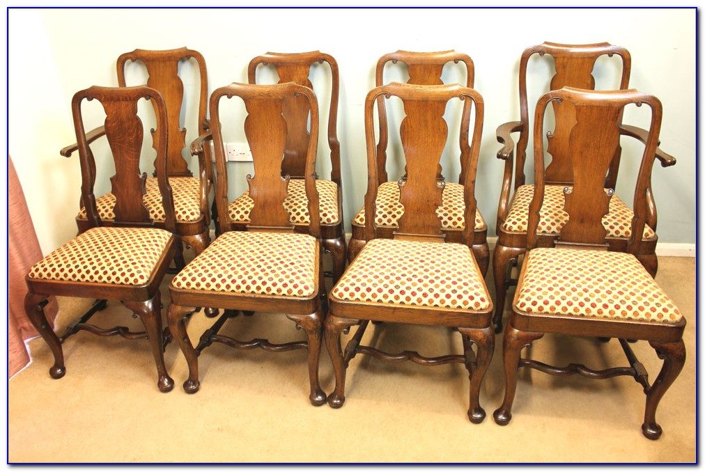 Antique Oak Dining Chairs Ebay Uk