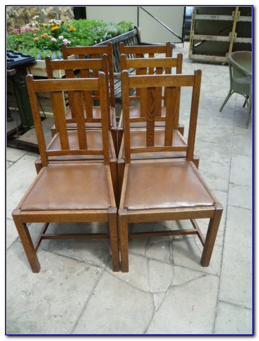 Antique Oak Dining Chairs Ebay