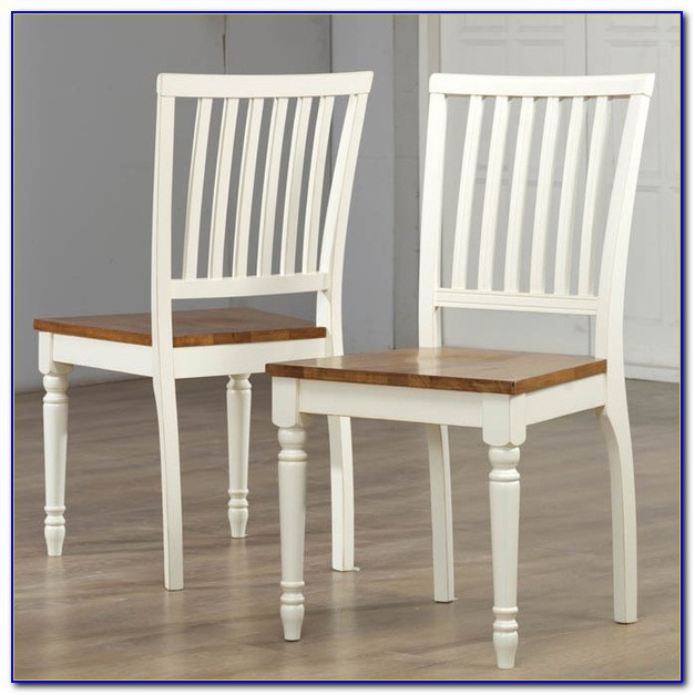 Antique White Dining Room Chairs