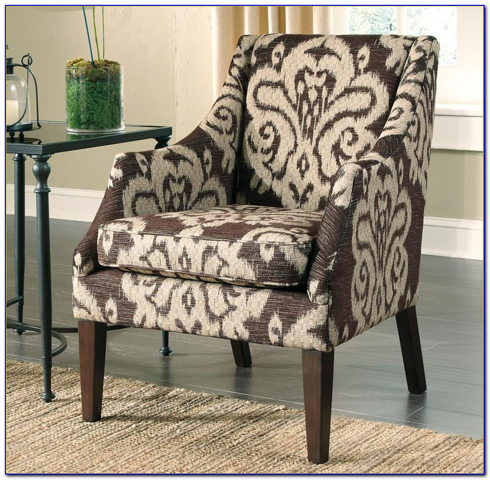 Ashley Furniture Striped Accent Chair