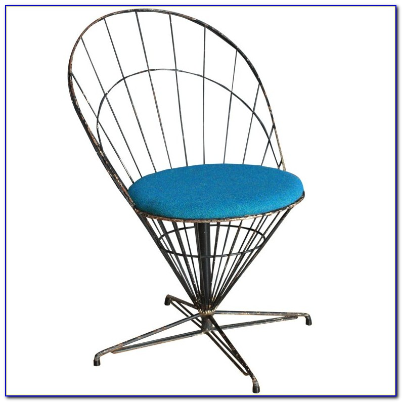 Avery Mid Century Wire Chair