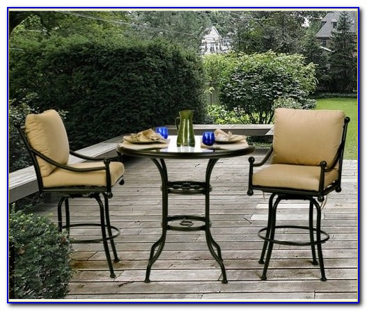 Bar Height Table And Chairs Patio Furniture