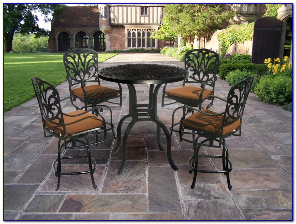 Bar Height Table Patio Furniture