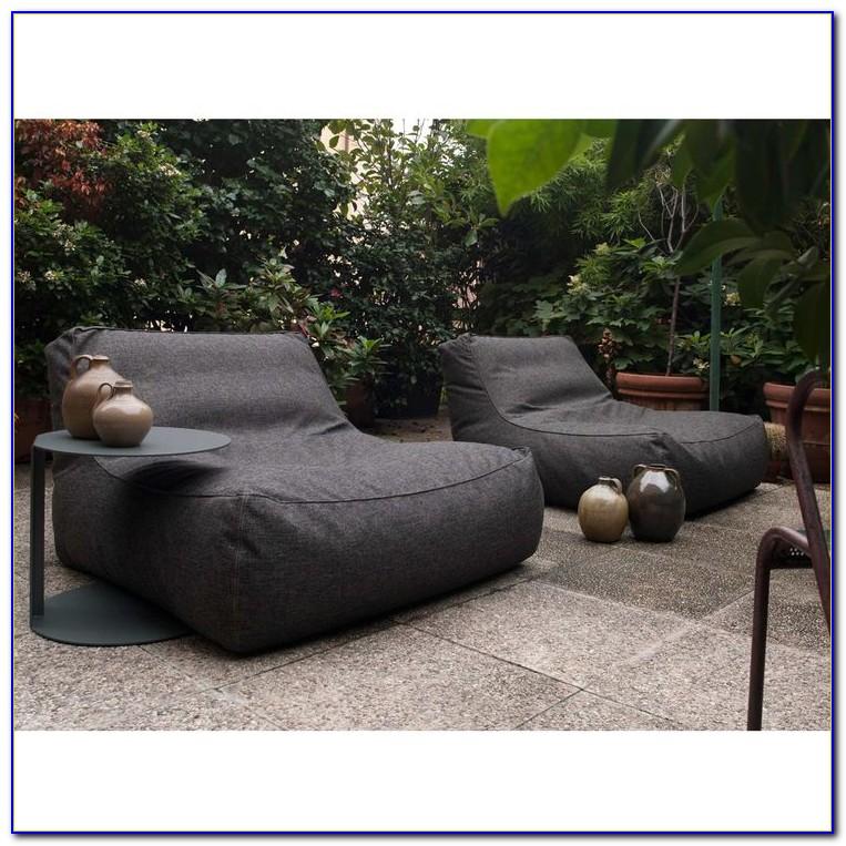Bean Bag Lounge Chair Black