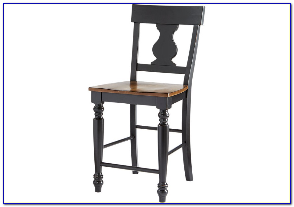 Black And White Counter Height Chairs