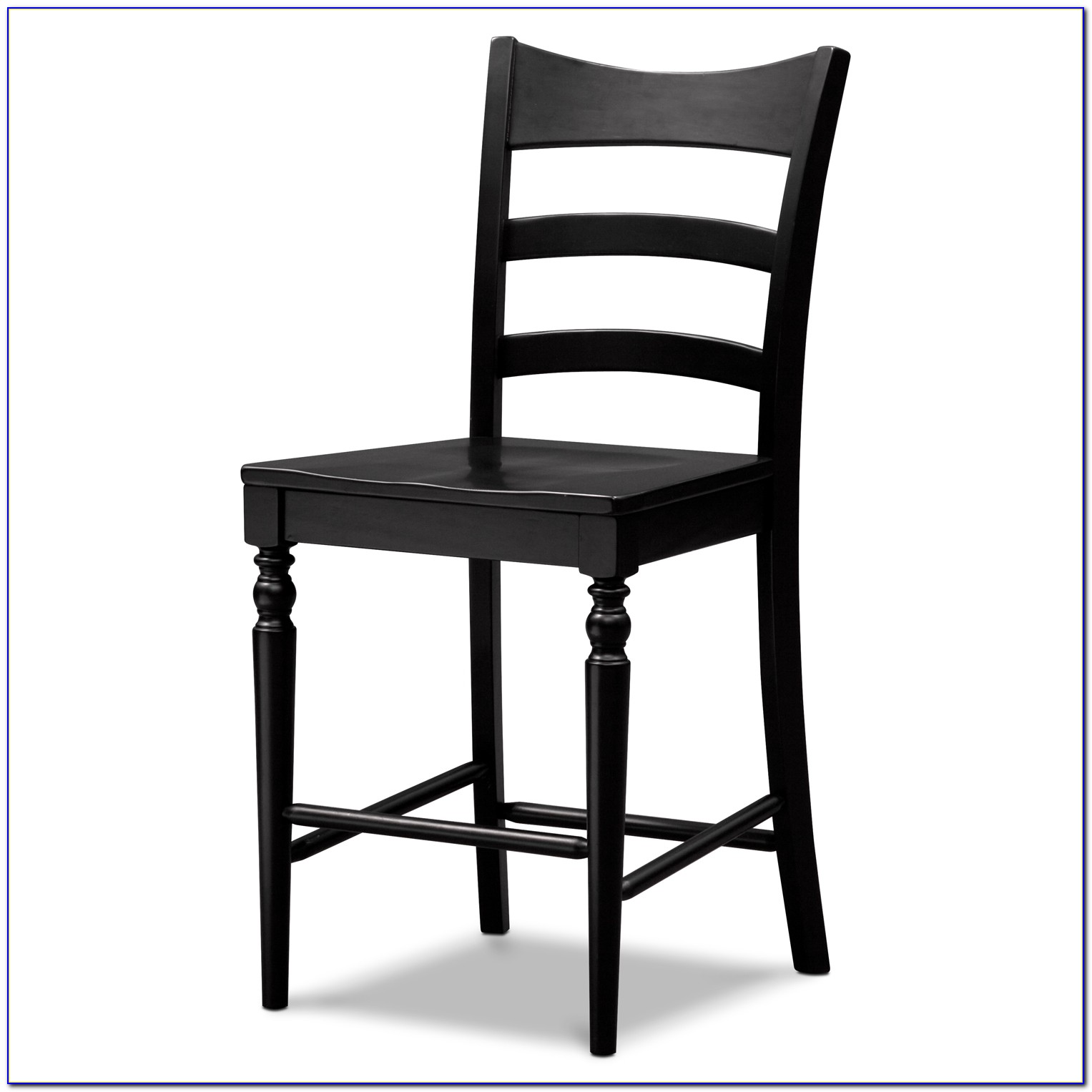 Black Leather Counter Height Chairs
