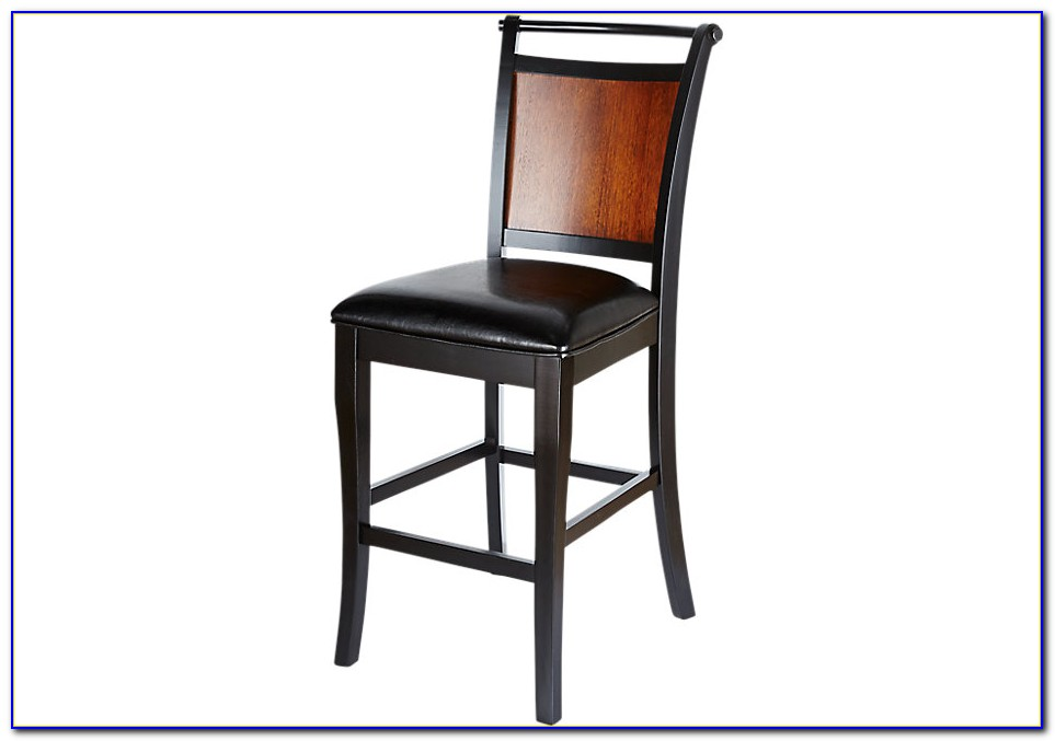 Black Wood Counter Height Chairs