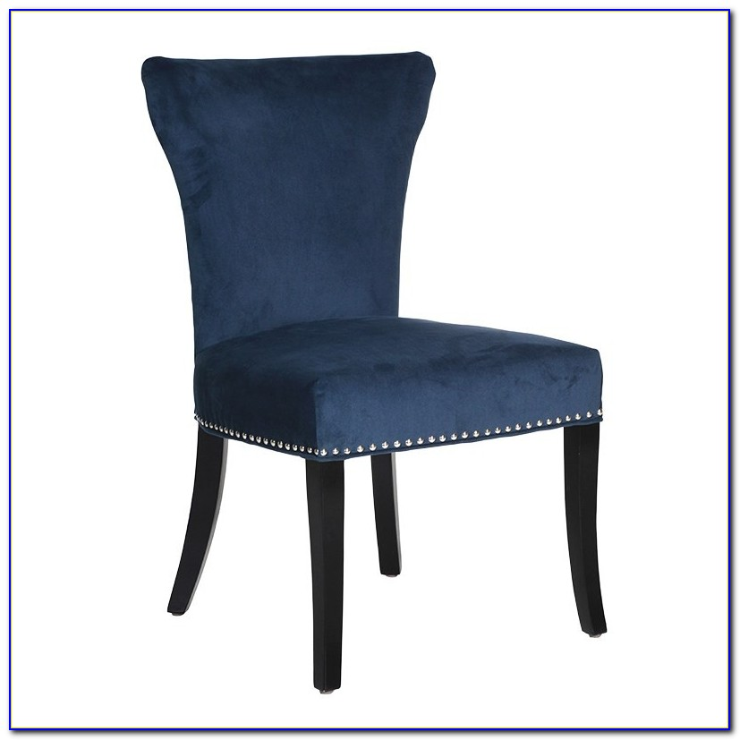 Blue Upholstered Dining Chairs Uk