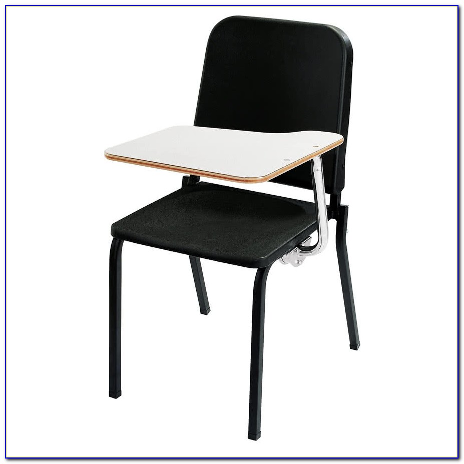 Chair With Tablet Arm Cad