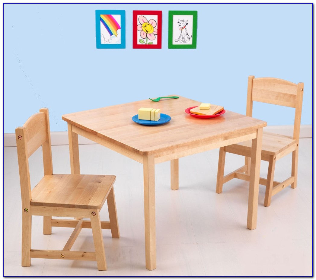 Childrens Wooden Table And Chair Set Ikea