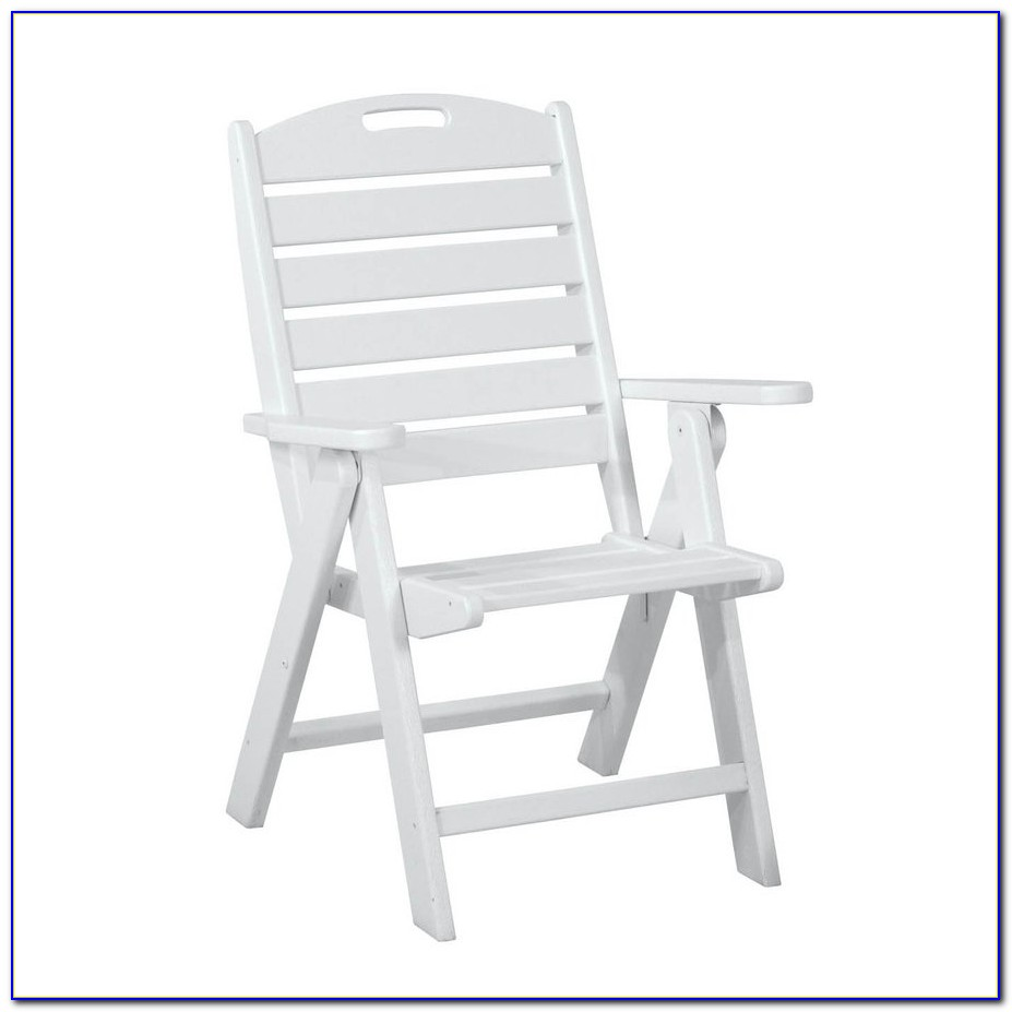 Cleaning White Plastic Outdoor Chairs