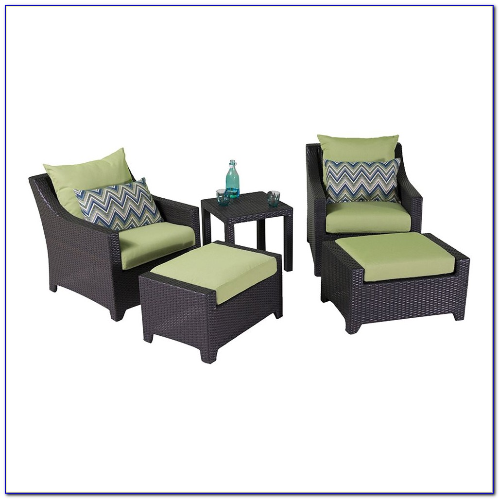 Club Chair And Ottoman Slipcovers