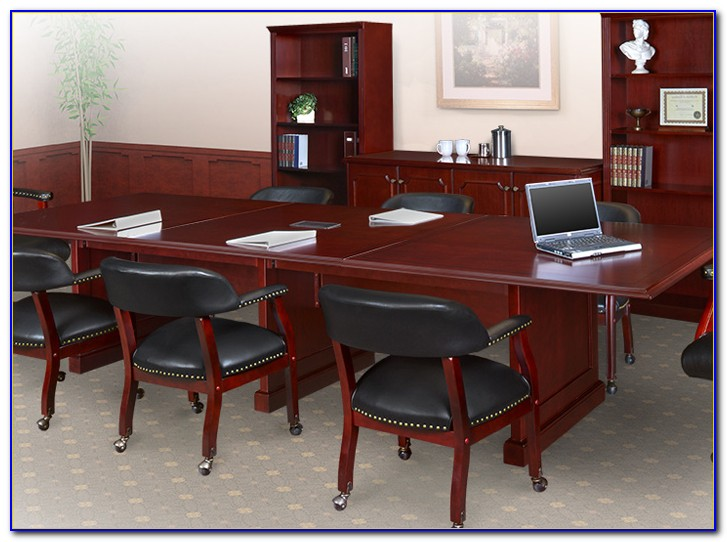 Conference Table And Chairs Revit
