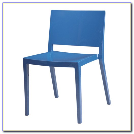 Contemporary Outdoor Wicker Dining Chairs