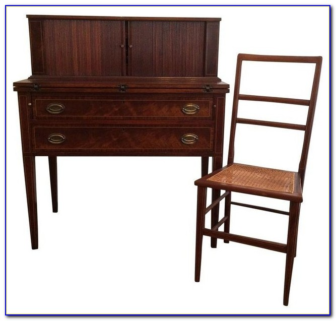 Corner Writing Desk With Chair