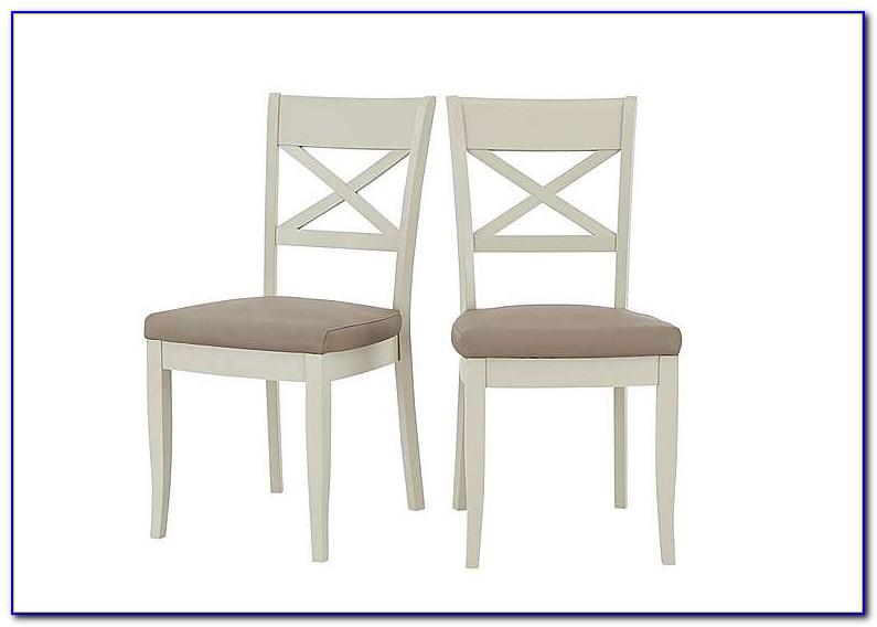 Cross Back Dining Chairs Oak