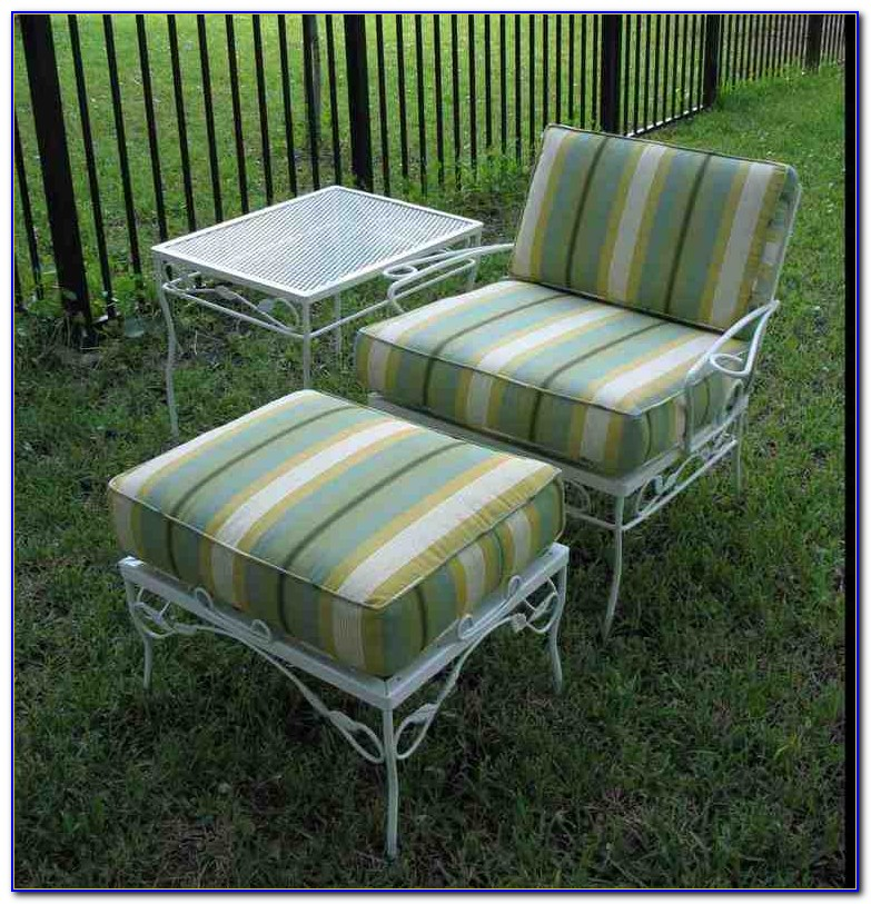 Cushions For Vintage Metal Lawn Chairs