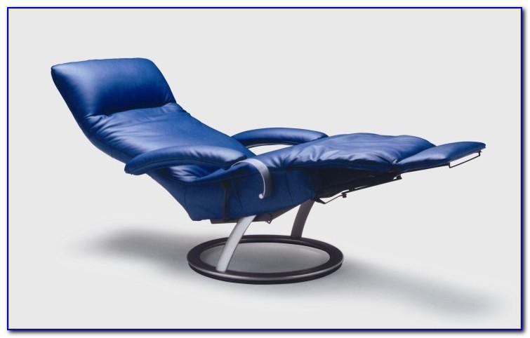 Dark Blue Chair And A Half