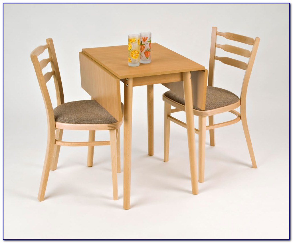 Drop Leaf Dining Table With Chairs
