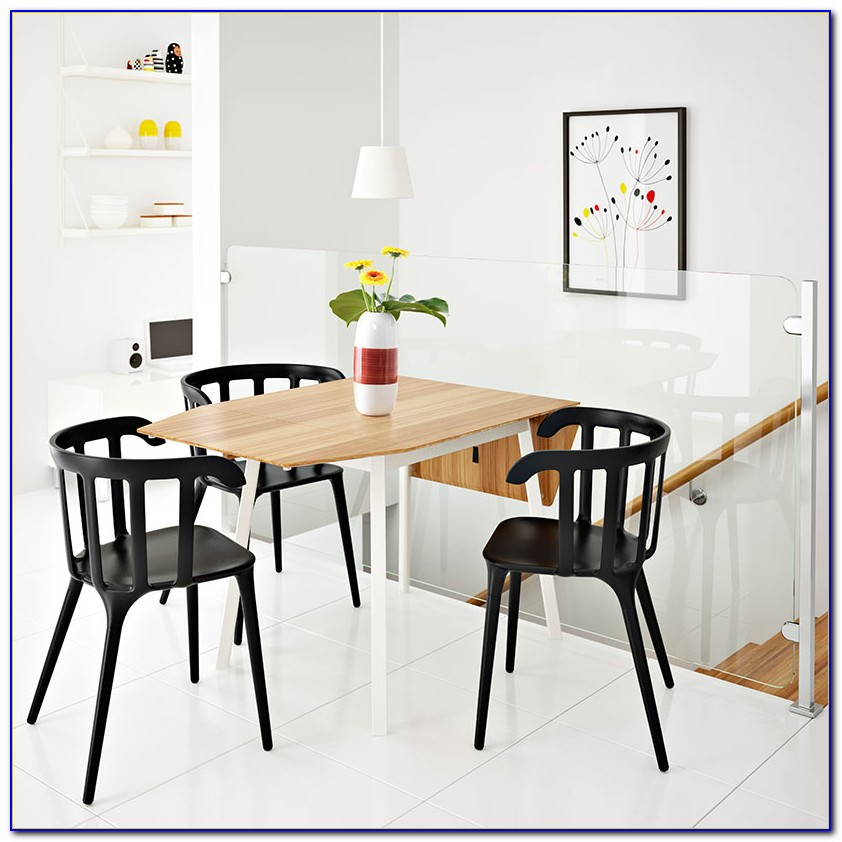 Drop Leaf Table With Chair Storage Ikea