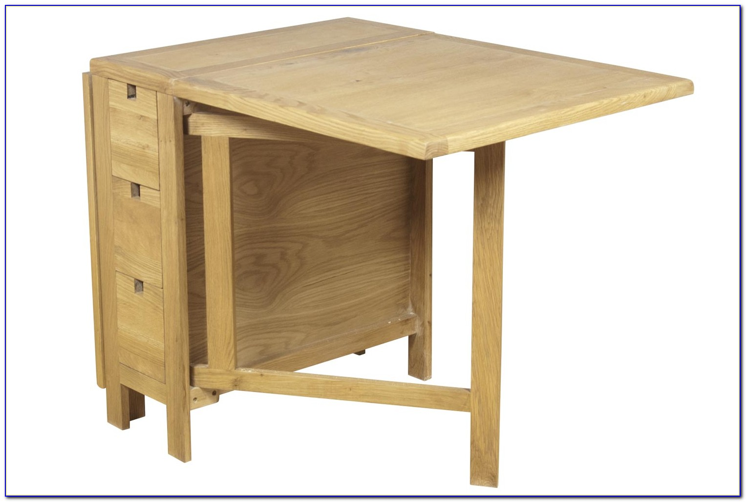 Drop Leaf Table With Onboard Chair Storage