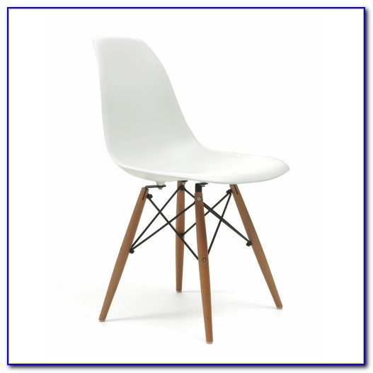 Eames Style Dining Chair Cream