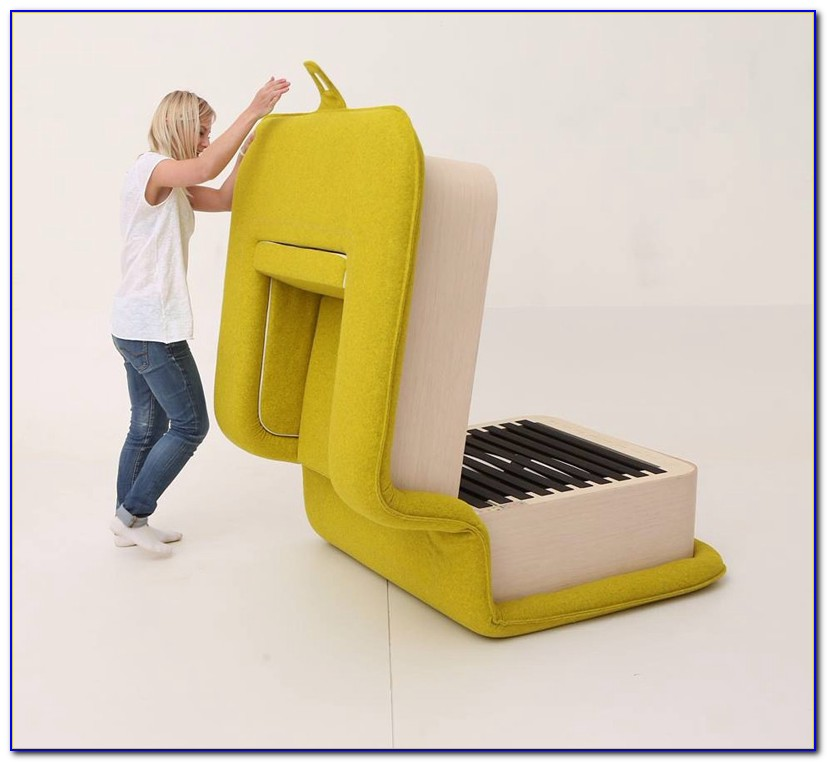 Foam Chair That Folds Out Into A Bed