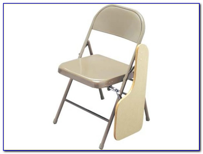Folding Chair With Table And Pocket