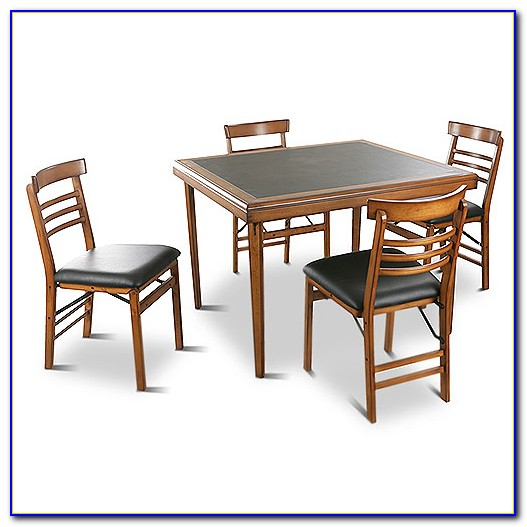 Folding Chairs And Tables Set