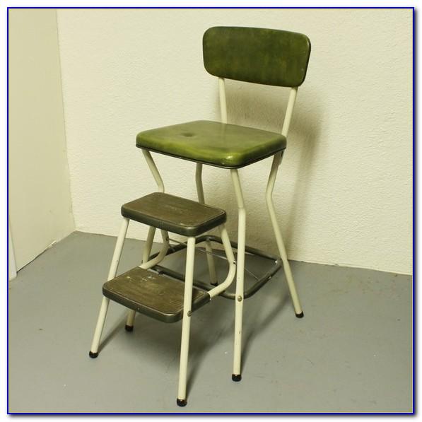 Folding Step Stool Seat