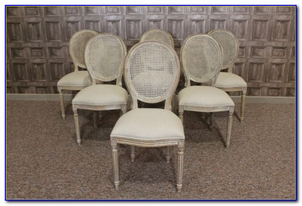 French Style Dining Chairs With Arms