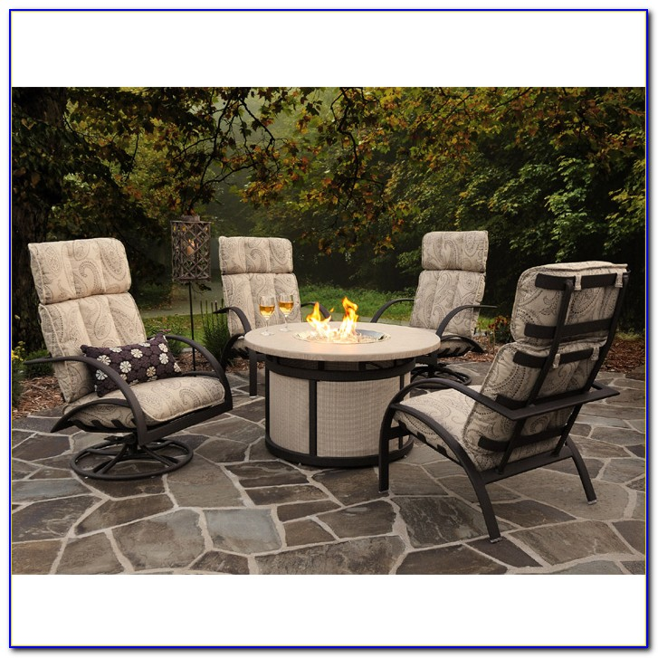Gas Fire Pit Sets With Chairs
