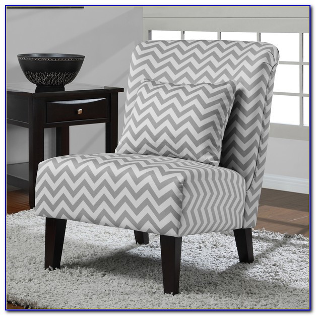 Grey And White Accent Chair Canada
