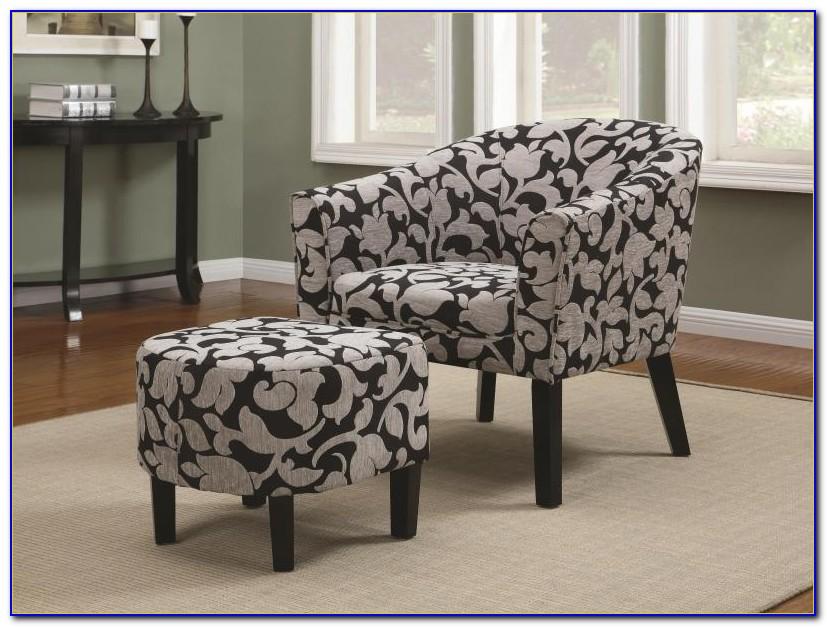 Grey Nursery Chair And Ottoman