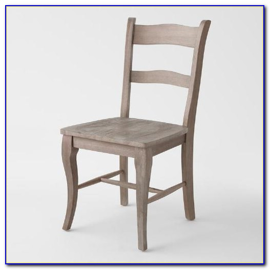 Grey Wood Dining Chairs