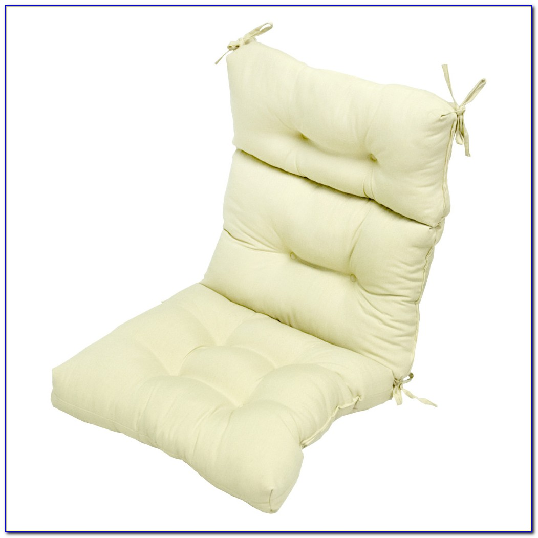 High Back Chair Cushions Sunbrella