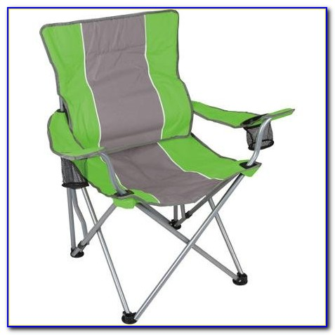 High Back Folding Chair With Side Table