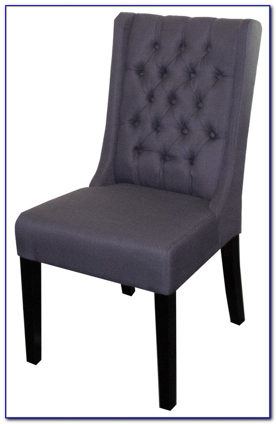 High Back Tufted Wing Chair