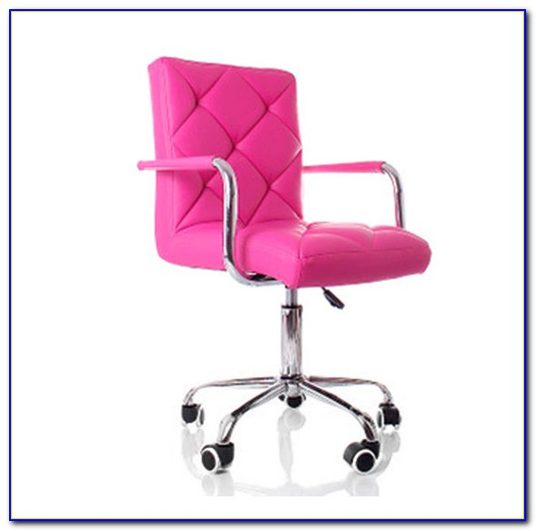 Hot Pink Desk Chair Cushion