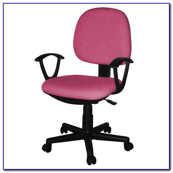 Hot Pink Office Chair With Arms