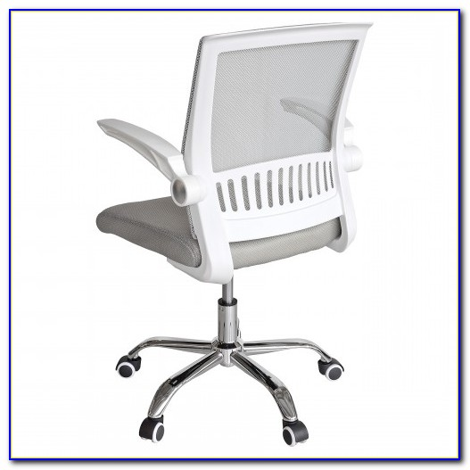 Icarus White Mesh Office Chair