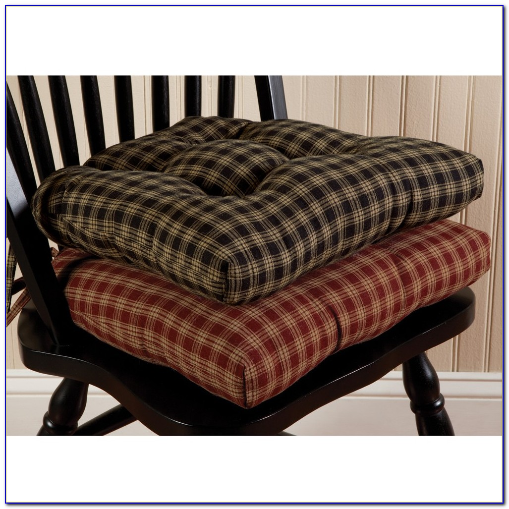 Kitchen Chair Seat Pad Covers