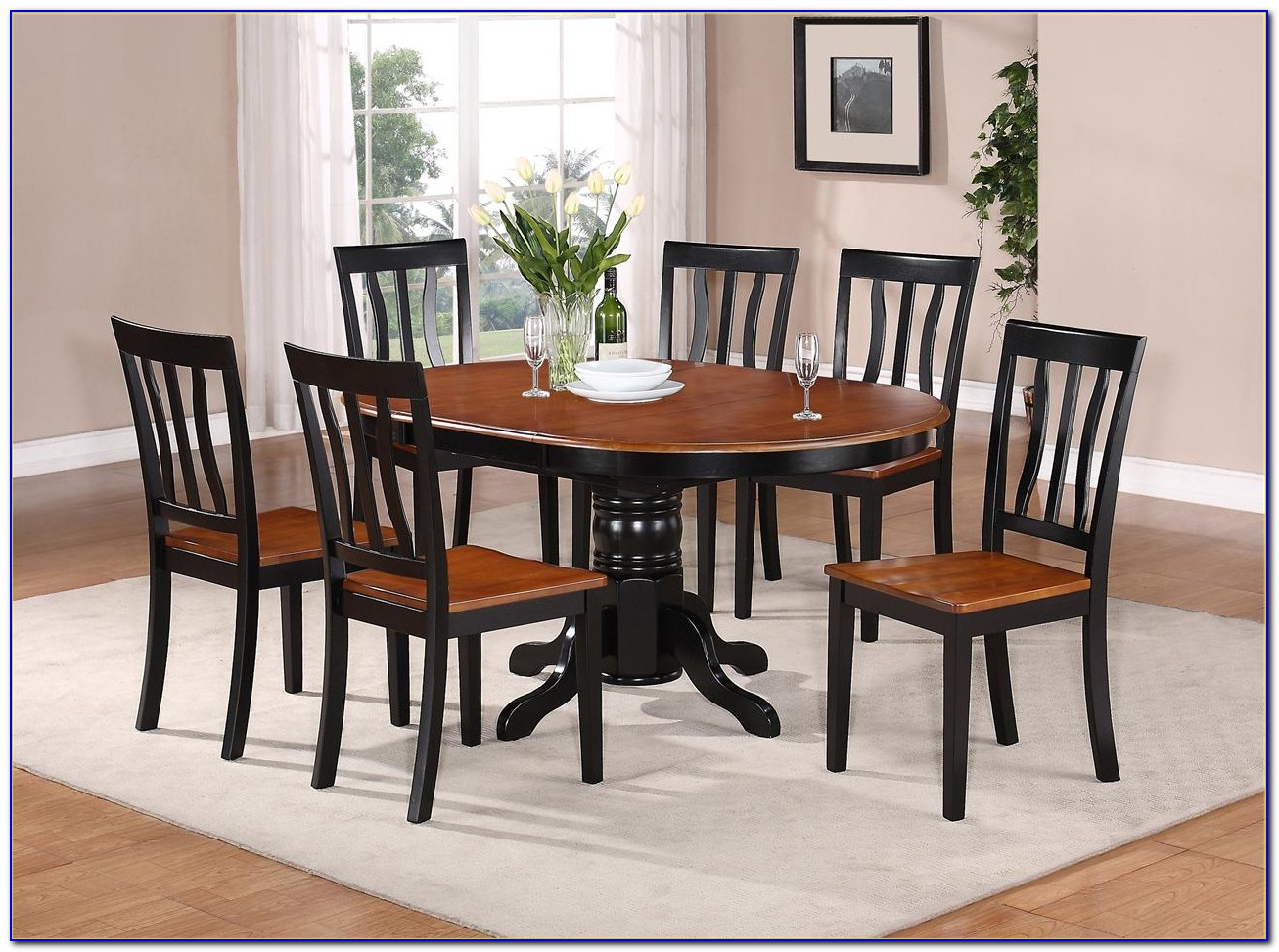 Kitchen Tables With 6 Chairs