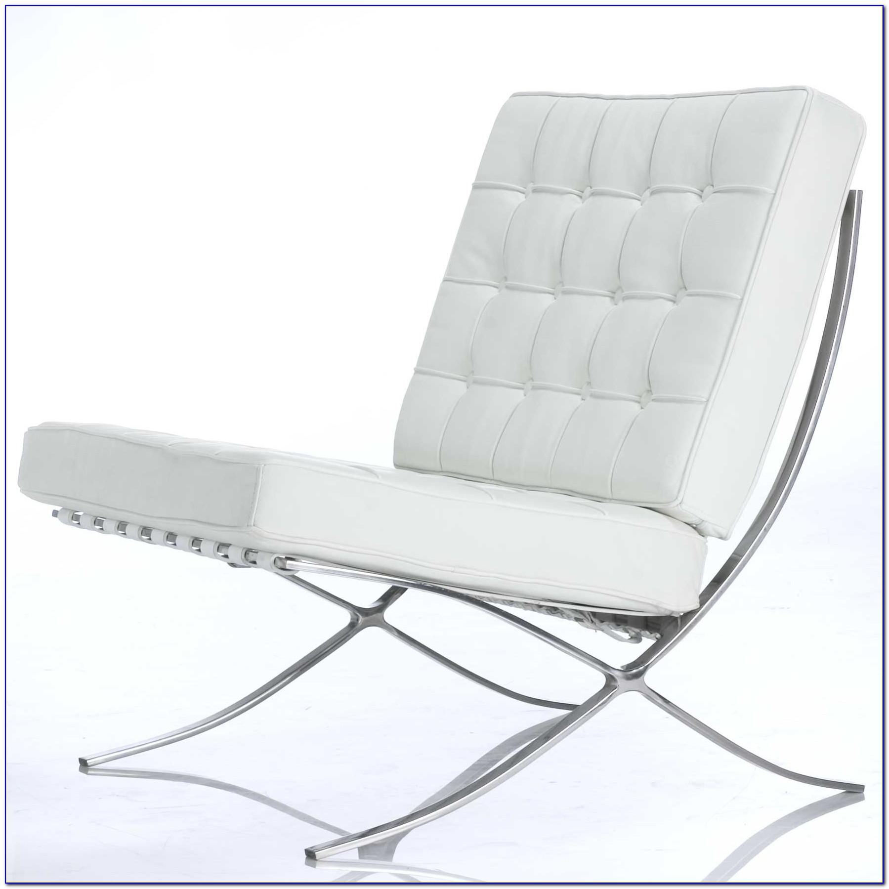 Knoll Barcelona Chair And Ottoman