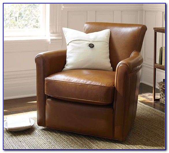 Leather Chairs Pottery Barn