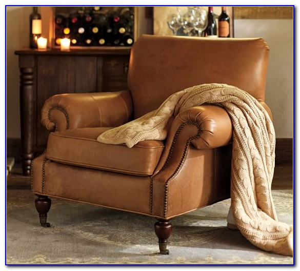Leather Club Chairs Pottery Barn