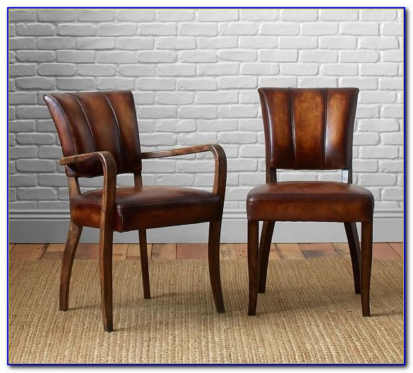 Leather Dining Chairs Pottery Barn