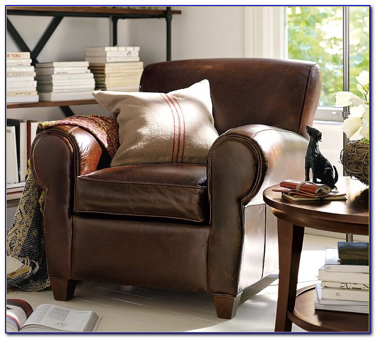 Leather Furniture Pottery Barn