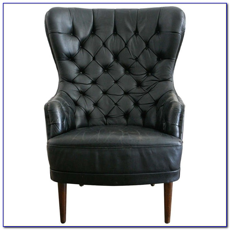 Leather High Back Chairs For Dining Room